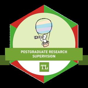 Postgraduate Supervision Digital Badge